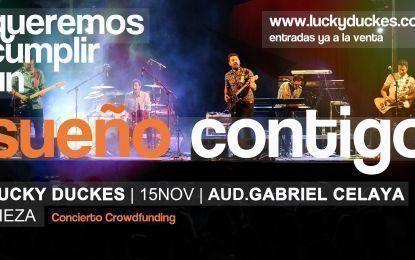 El concierto crowdfunding de Lucky Duckes