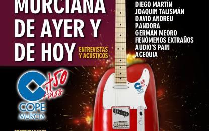 Celebrando 50 años de Cadena Cope en Murcia