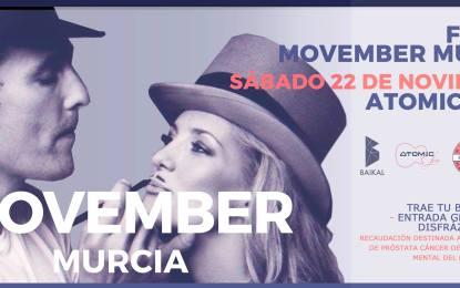 #Murciabigotuda celebra el movimiento Movember en Atomic