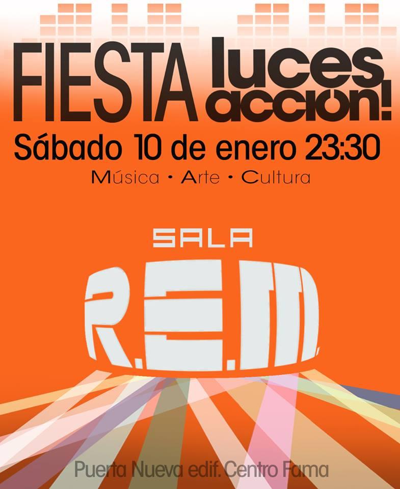 El festival Luces, Acción! se despide con una gran fiesta en sala REM