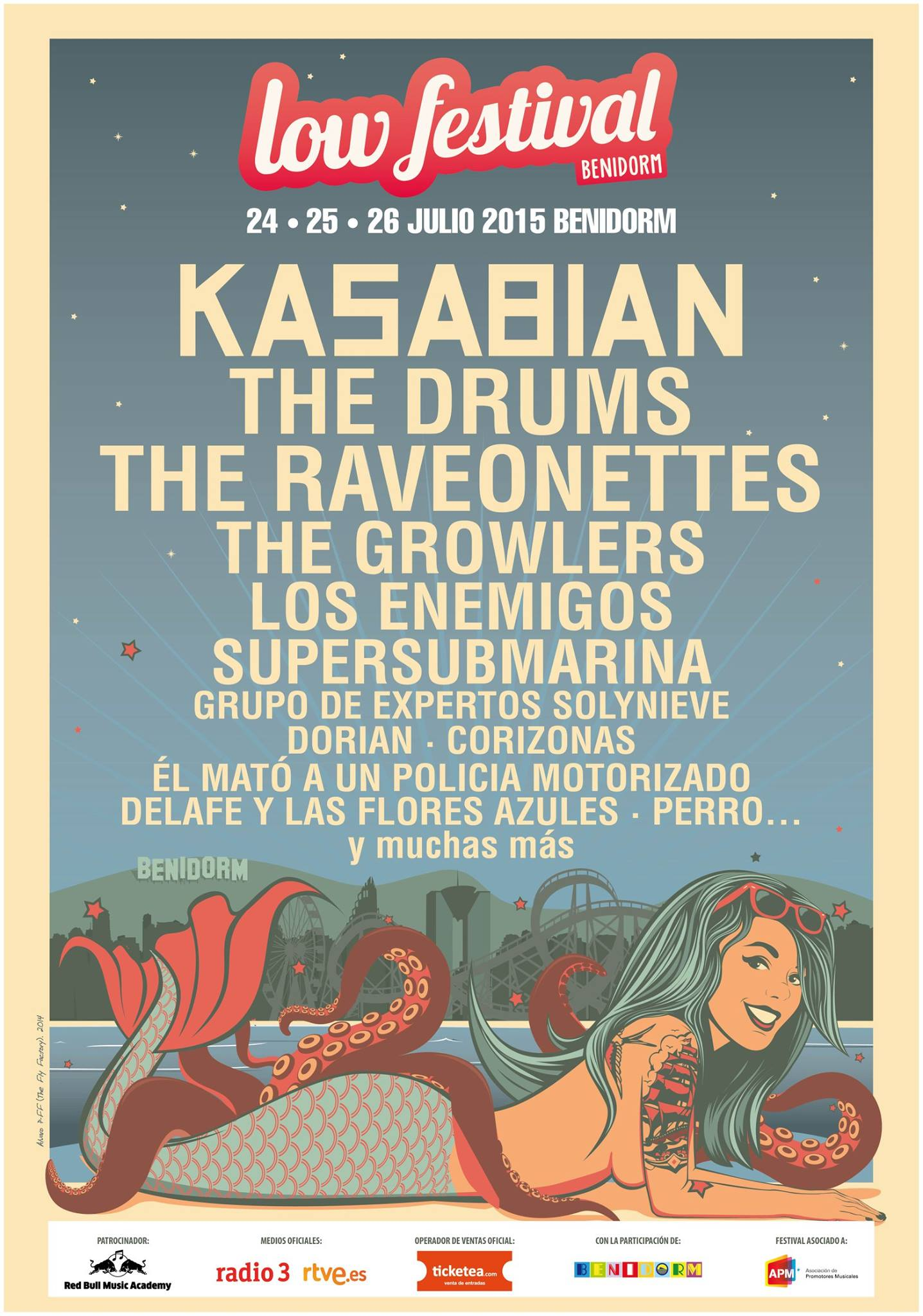 The Drums y The Raveonettes entre las nuevas confirmaciones del Low Festival