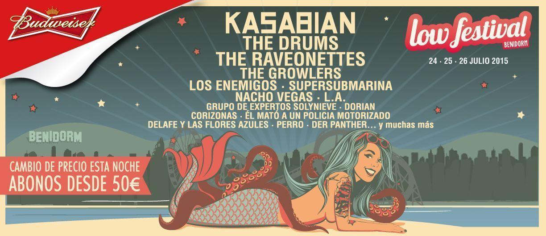 Nacho Vegas, L.A. y Der Panther, al Low Festival