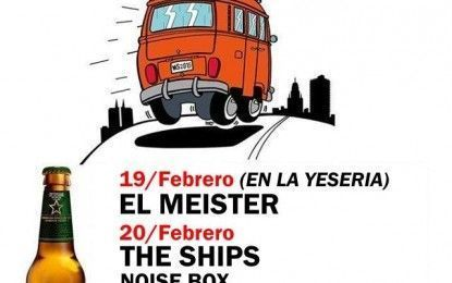 Microsonidos con El Meister, The Ships y The New Raemon