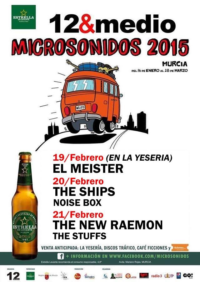 Microsonidos con El Meister, The Ships y The New Raemon