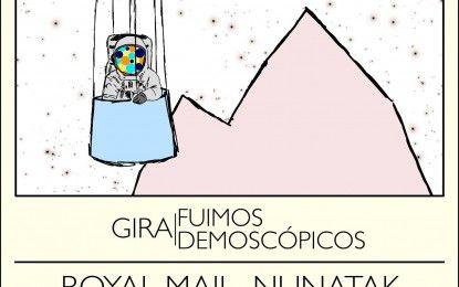 Nunatak + Royal Mail + Babel en Microsonidos el 6 de marzo