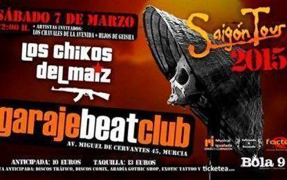 Los Chikos del Maíz presentarán 'La Estanquera de Saigón' en Garaje Beat Club el 7 de marzo