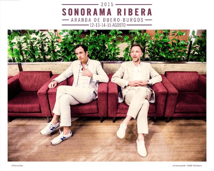 Así queda el cartel del Sonorama Ribera 2015 con las últimas confirmaciones