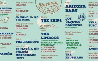 Rockola Summer Club La Azohía: Programación 15 aniversario
