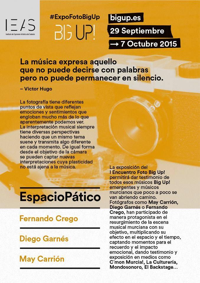 #ExpoFotoBigUp. Diseño: Blonde Poulain / Fotografía: Diego Garnés