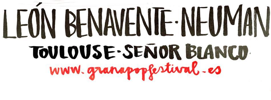 Granapop: el 21 de noviembre con Neuman, Rufus T. Firefly, León Benavente, Señor Blanco y Toulouse