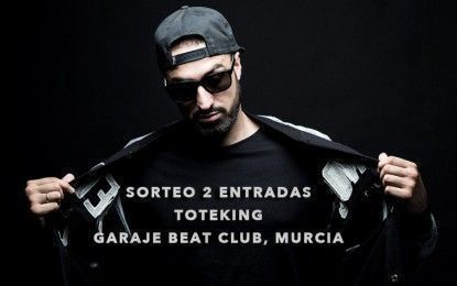 ToteKing presenta '78' en Garage Beat Club, Murcia + Sorteo de 2 entradas