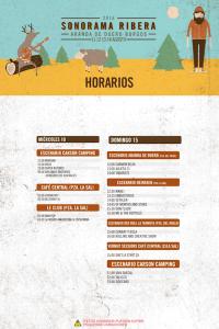 Horarios Sonorama Ribera 2016