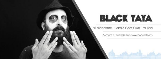 Black Yaya + Ayoho en Garaje Beat Club el jueves 10 de diciembre
