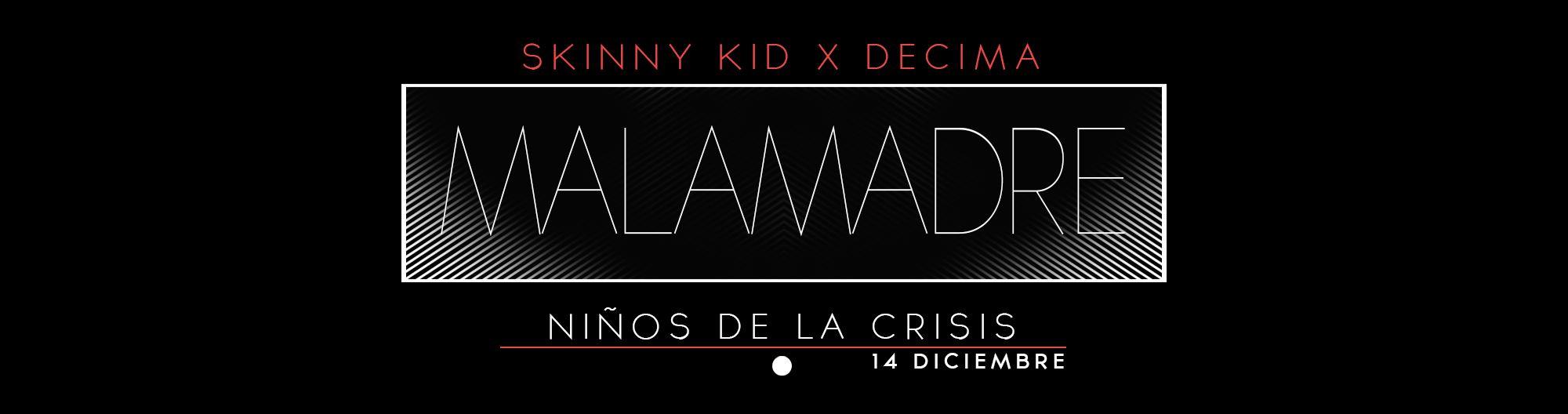 Skinny Kid presenta tema y se lanza al trap con nueva mixtape como Malamadre