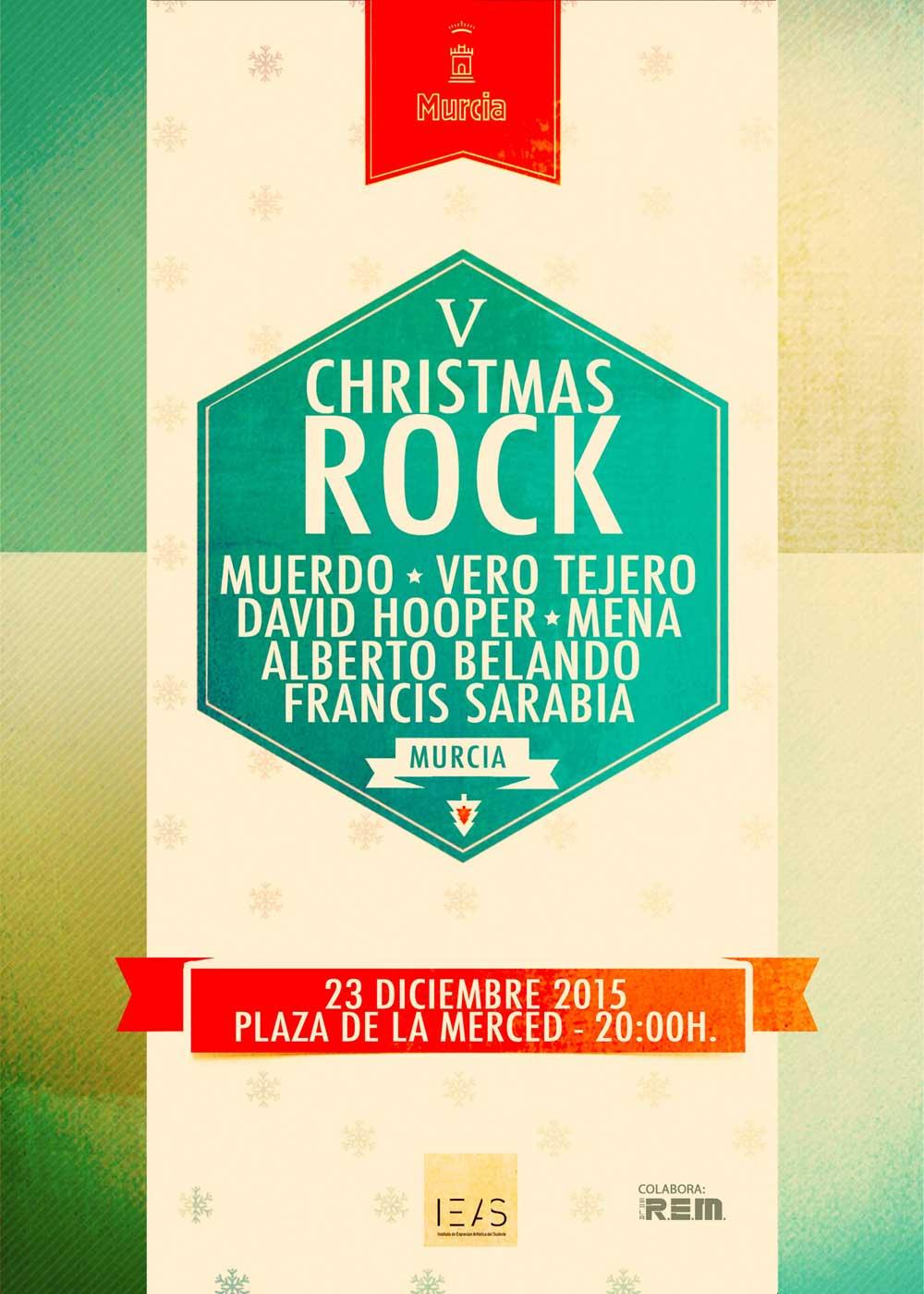 Christmas Rock celebra su V edición y desvela los nombres de los artistas que pondrán voz a la Navidad