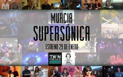 Murcia Supersónica, el documental de la música murciana, se estrena el 29 de enero en la Filmoteca Regional