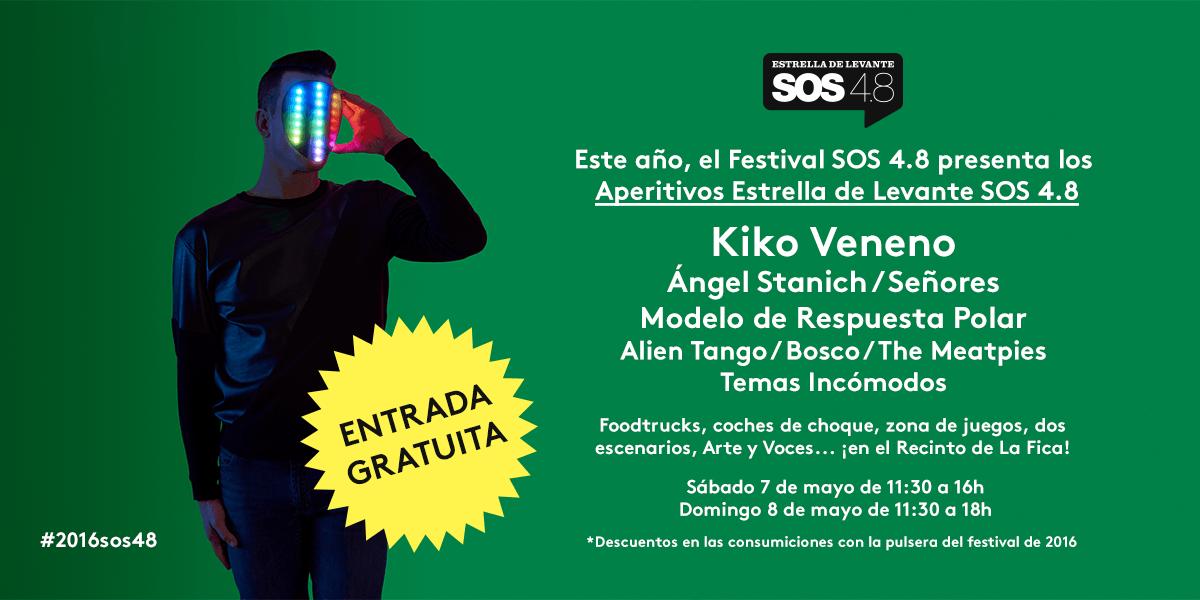 Aperitivos Estrella de Levante SOS 4.8