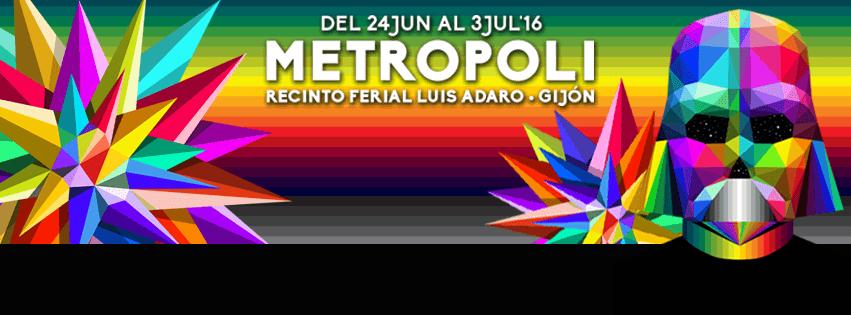 Metrópoli Festival 2016: Cultura, música, Cómic Con y entretenimiento en Gijón