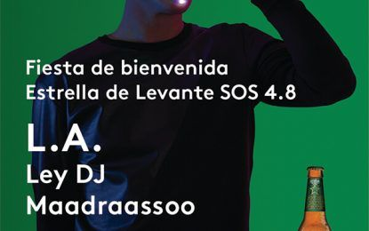 Bienvenida del SOS 4.8 en Sala REM con L.A., Ley DJ y Maadraassoo