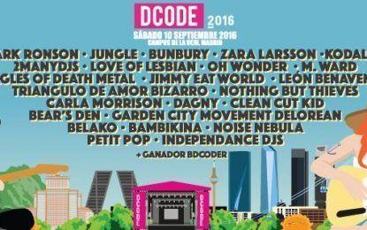 DCODE 2016: Programación y entradas
