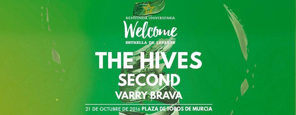 The Hives, Second y Varry Brava en el Welcome Estrella de Levante 2016