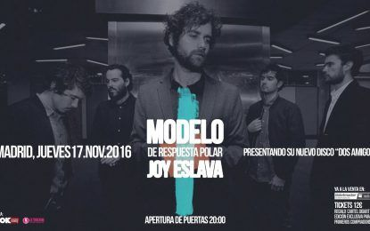 Modelo de Respuesta Polar presenta su nuevo disco en Joy Eslava, Madrid