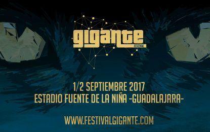 El Festival Gigante anuncia sus primeros artistas para la edición de 2017