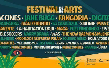 Festival de Les Arts 2017: Confirmados y entradas