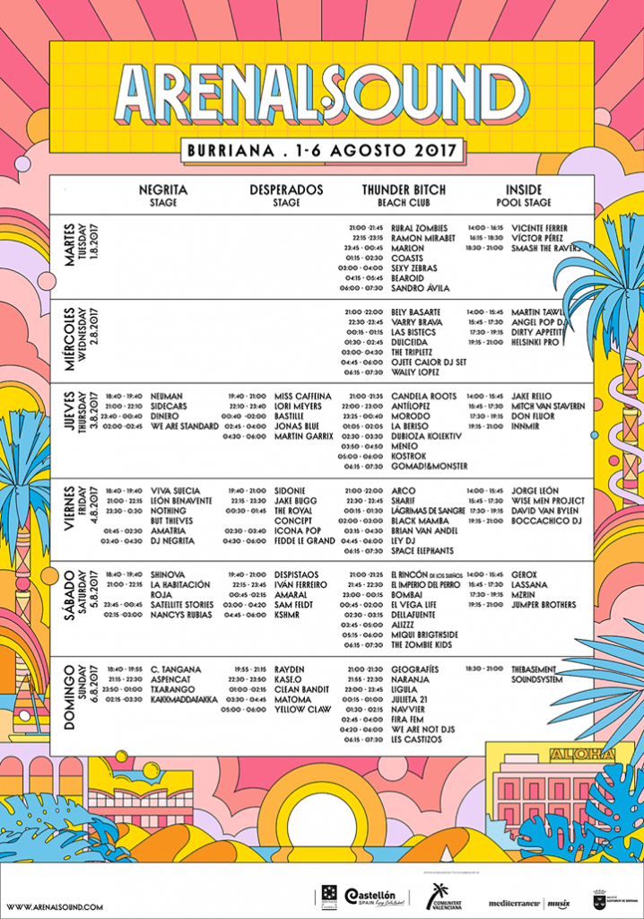 Arenal Sound 2017