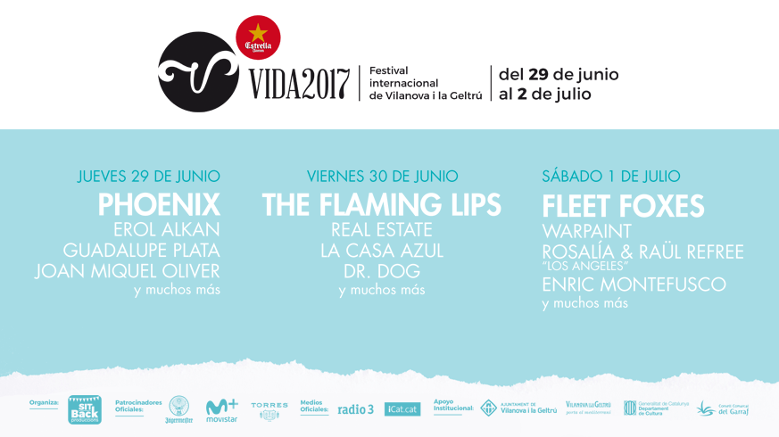 Vida Festival 2017: Confirmaciones y entradas