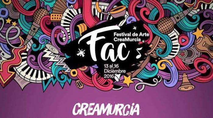 El Festival de Arte CreaMurcia vuelve del 13 al 16 de diciembre
