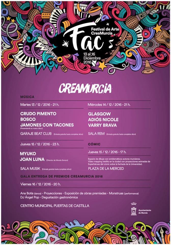 Festival de Arte CreaMurcia 2017