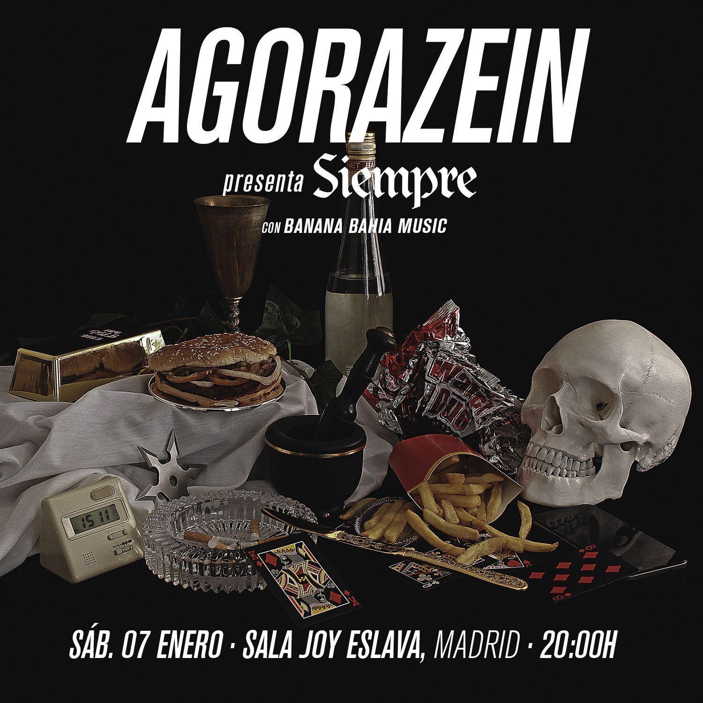 Agorazein presenta 'Siempre' en Madrid el 7 de enero
