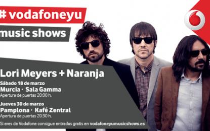 Lori Meyers estará en Murcia el 18 de marzo con Vodafone Yu Music Show