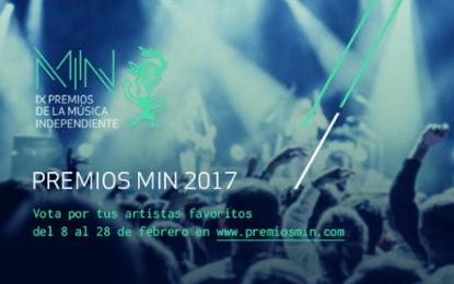 Vota en los Premios MIN hasta el 28 de febrero