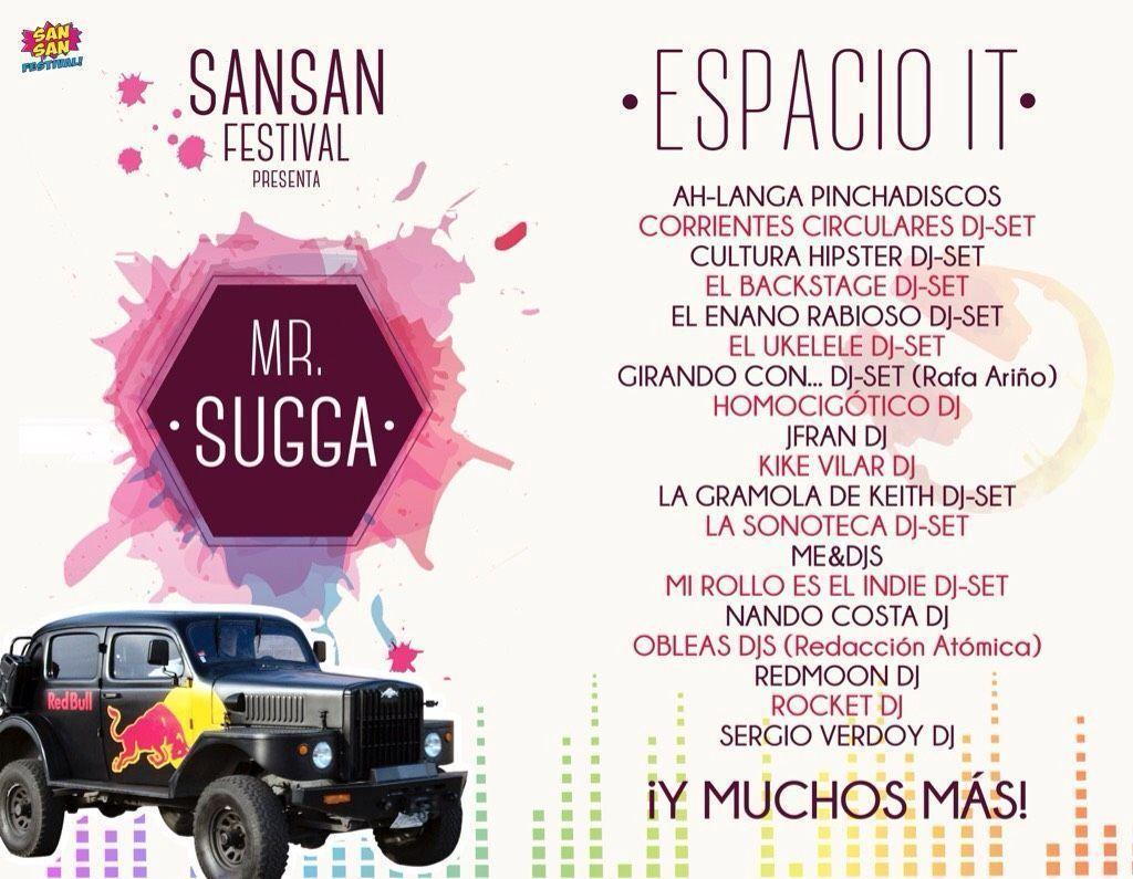 Sansan Festival anuncia su nuevo ESPACIO IT donde estaremos pinchando