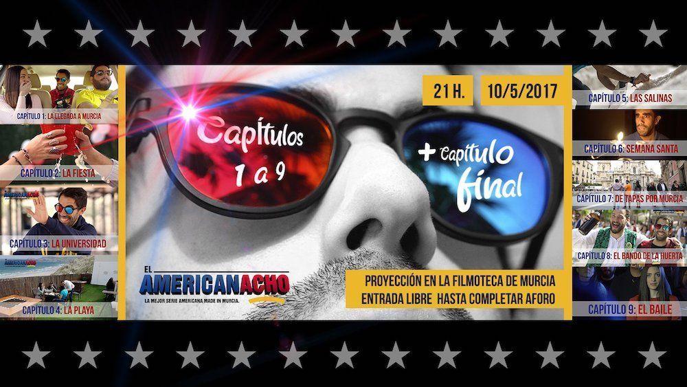 El Americanacho emite su primera temporada al completo en la Filmoteca de Murcia