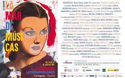 La Mar de Músicas inunda Cartagena con Latinoamérica como foco principal