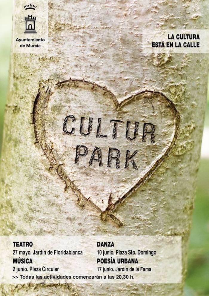 Cultur Park lleva la cultura a los jardines de Murcia