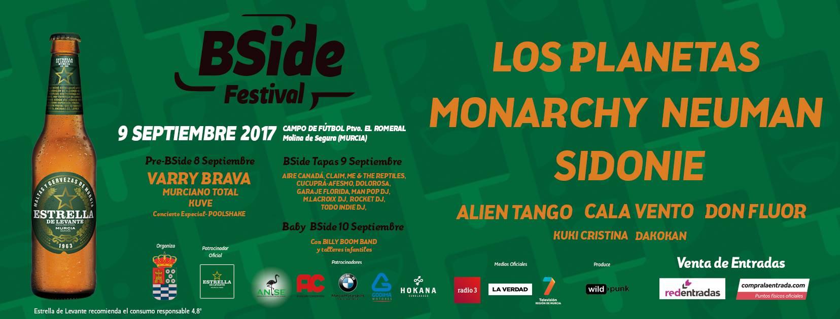BSide Festival 2017: Confirmaciones y entradas