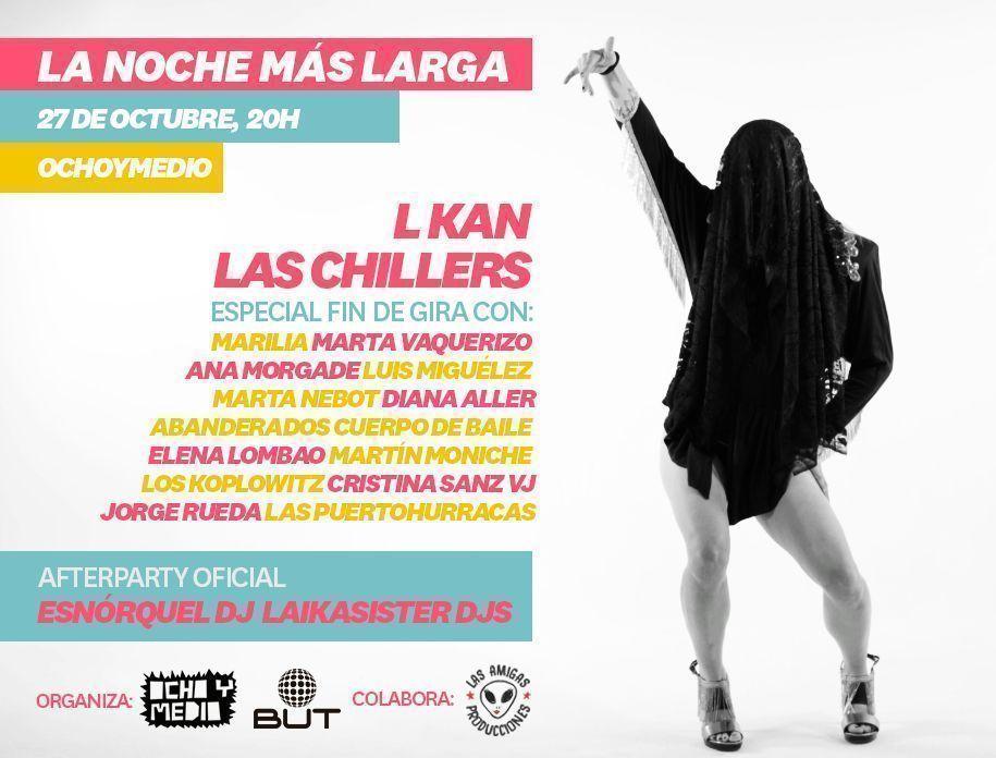 Las Chillers + L Kan en Veladas Contentas