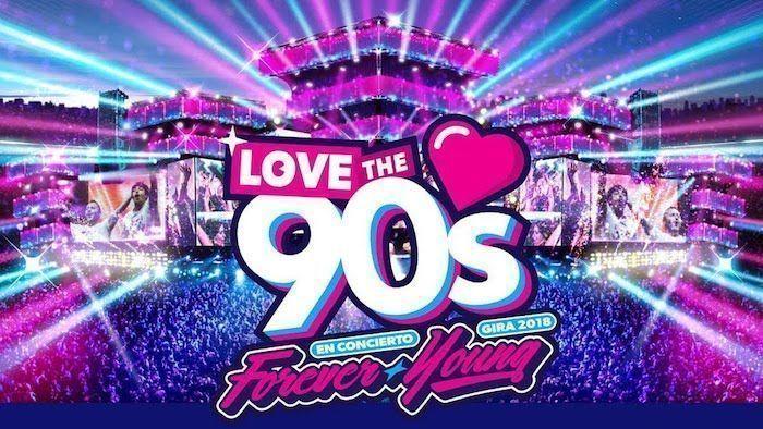 El festival Love the 90's vuelve en 2018 con tres grandes conciertos en Madrid, Valencia y Sevilla