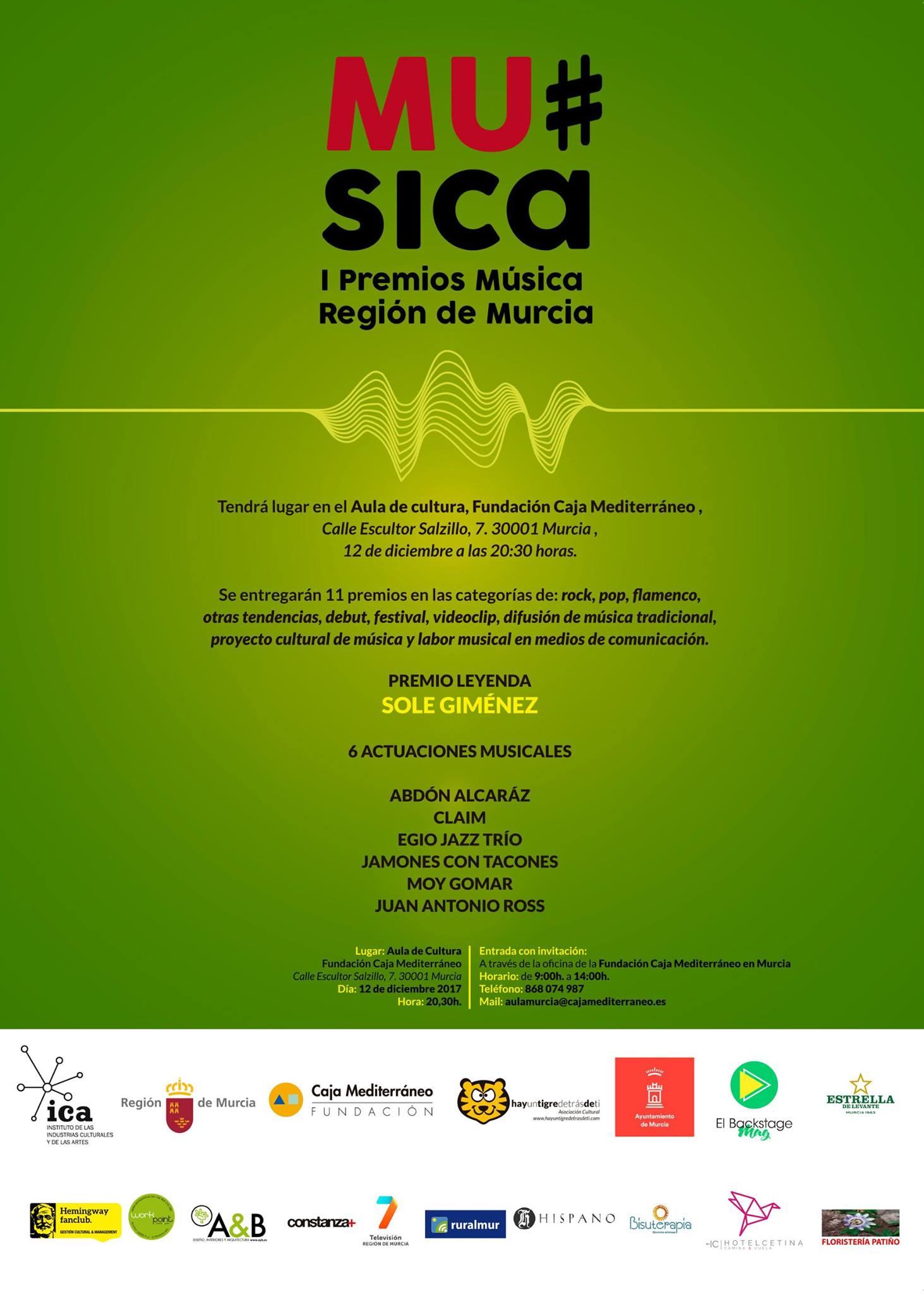 Premios Música Región de Murcia