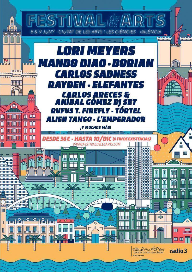 Festival de Les Arts 2018: Confirmaciones y entradas