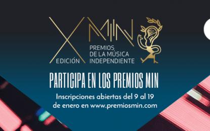 Arranca la X Edición de los Premios MIN
