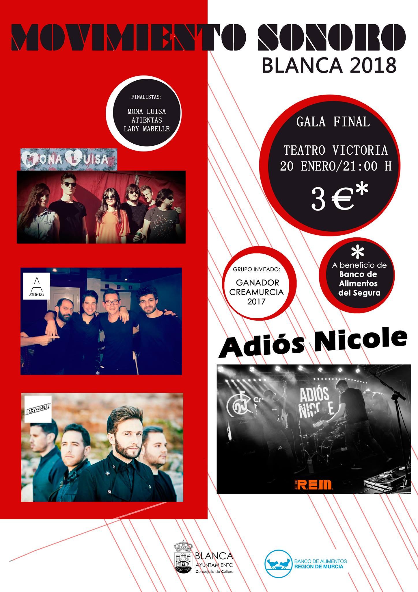 Movimiento Sonoro ya tiene a los tres finalistas de la segunda edición