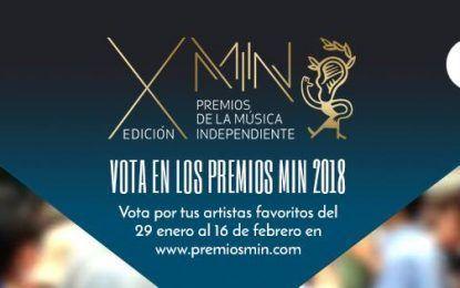 Arrancan las votaciones del público en los Premios MIN