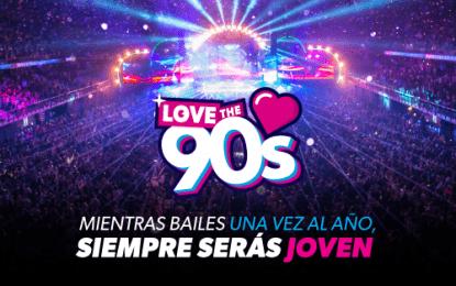 El festival Love The 90's llega a Murcia el 7 de julio