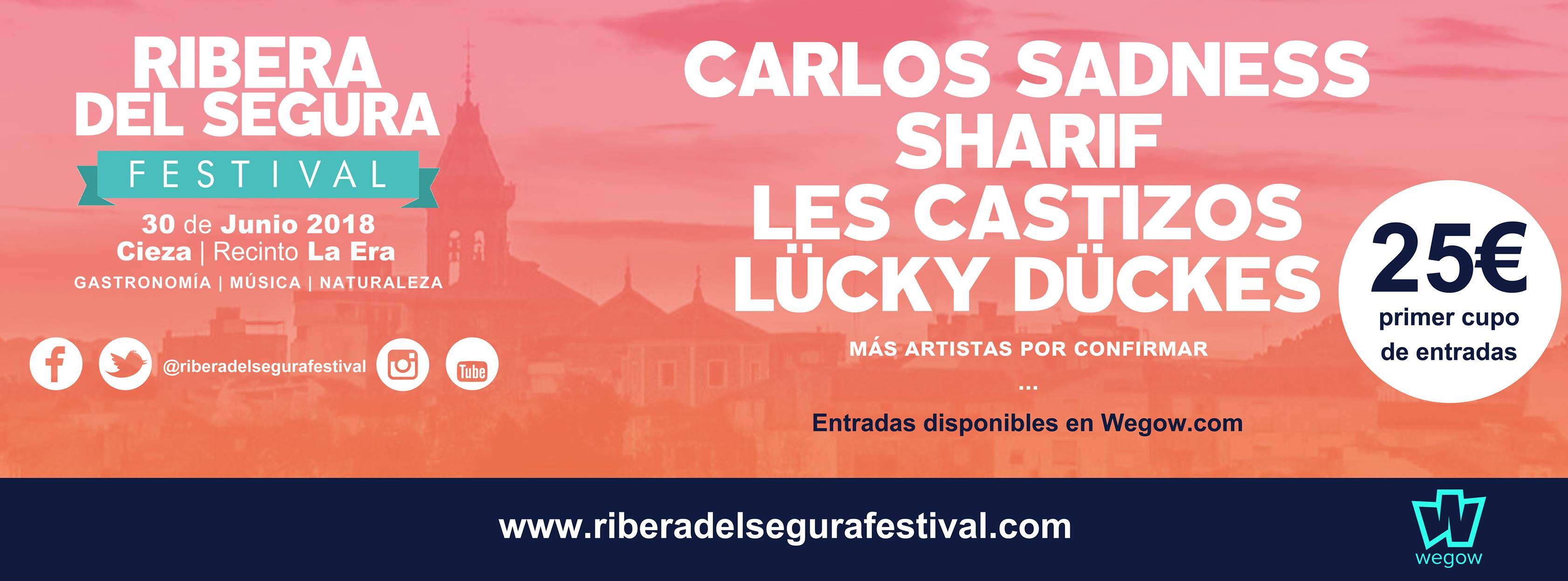 Nace un nuevo festival en la Región de Murcia: El Ribera del Segura Festival
