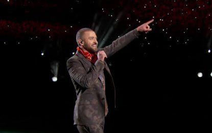 Justin Timberlake, ritmo y polémica en el descanso de la Superbowl